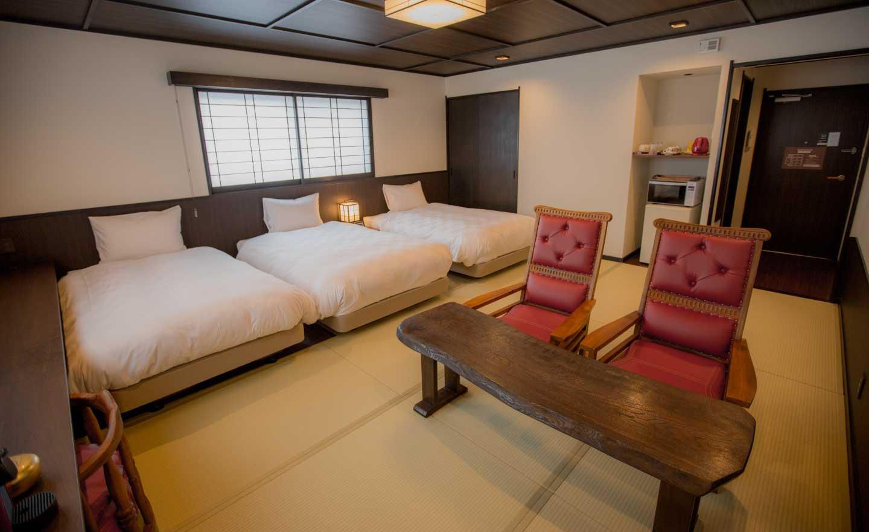 高瀬川別邸 東山 客室室内